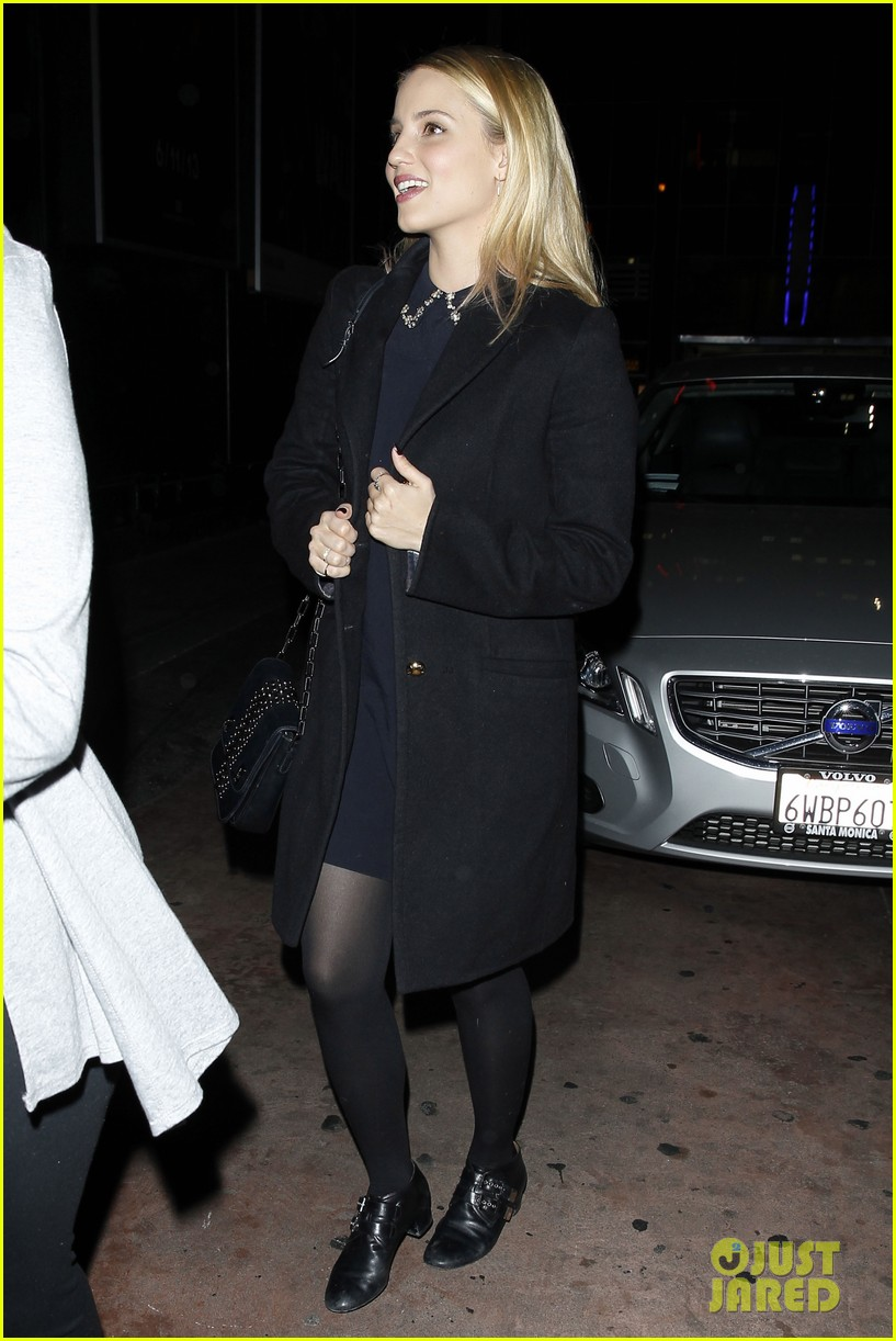 dianna agron supports glees amber riley at holiday concert 093017054