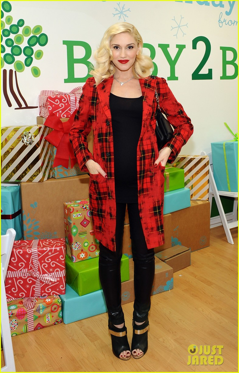 jessica alba gwen stefani baby2baby holiday party 053012300