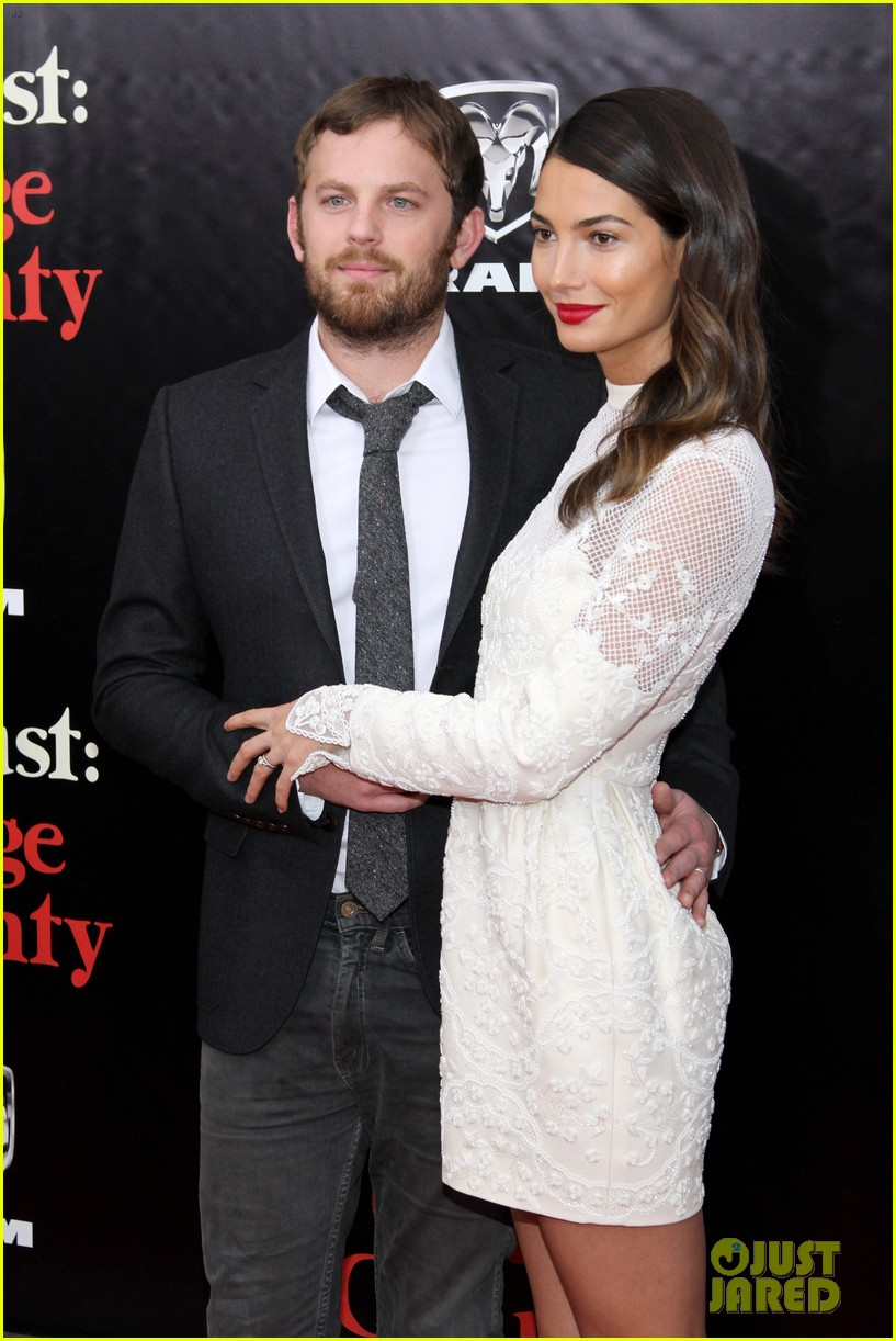 lily aldridge caleb followill august osage county premiere 043010932