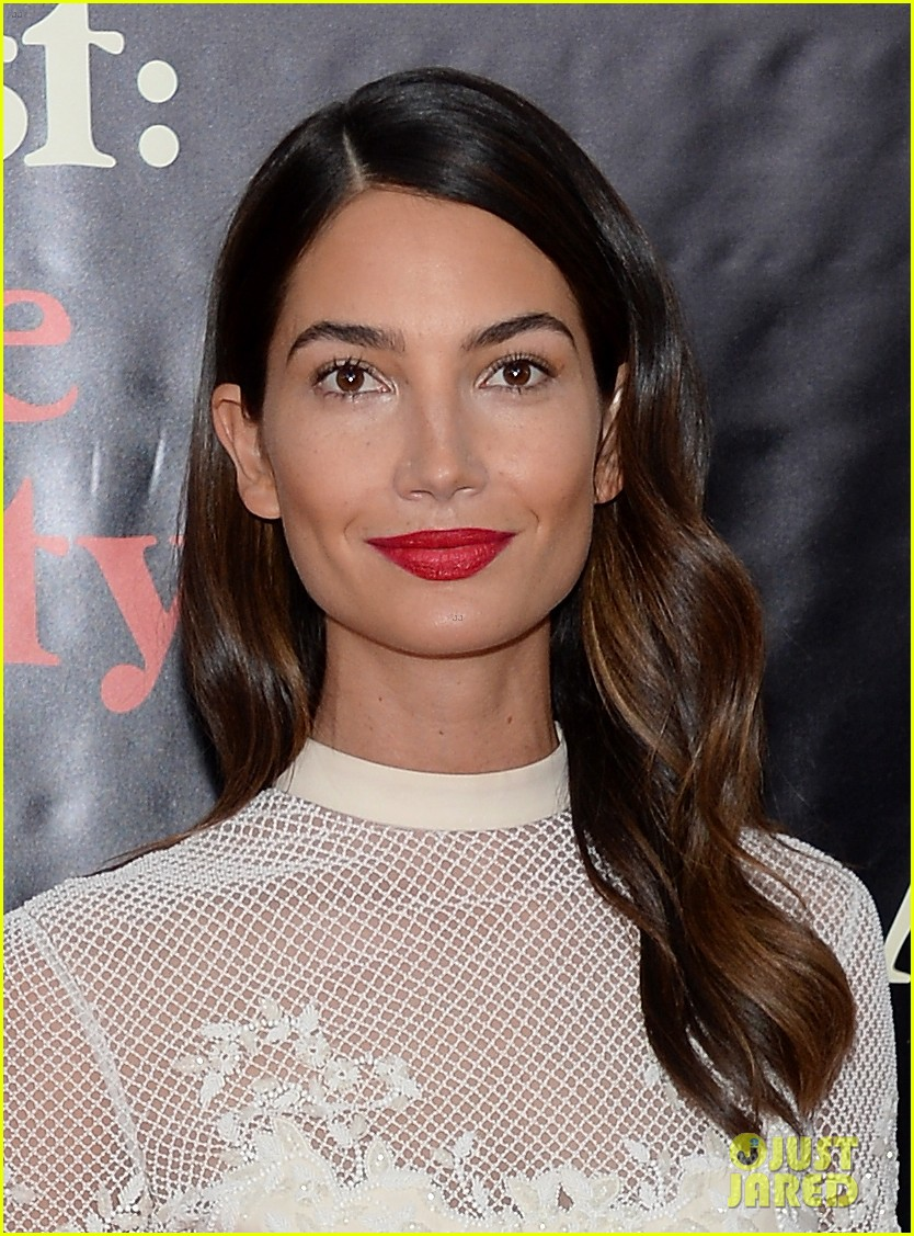 lily aldridge caleb followill august osage county premiere 22