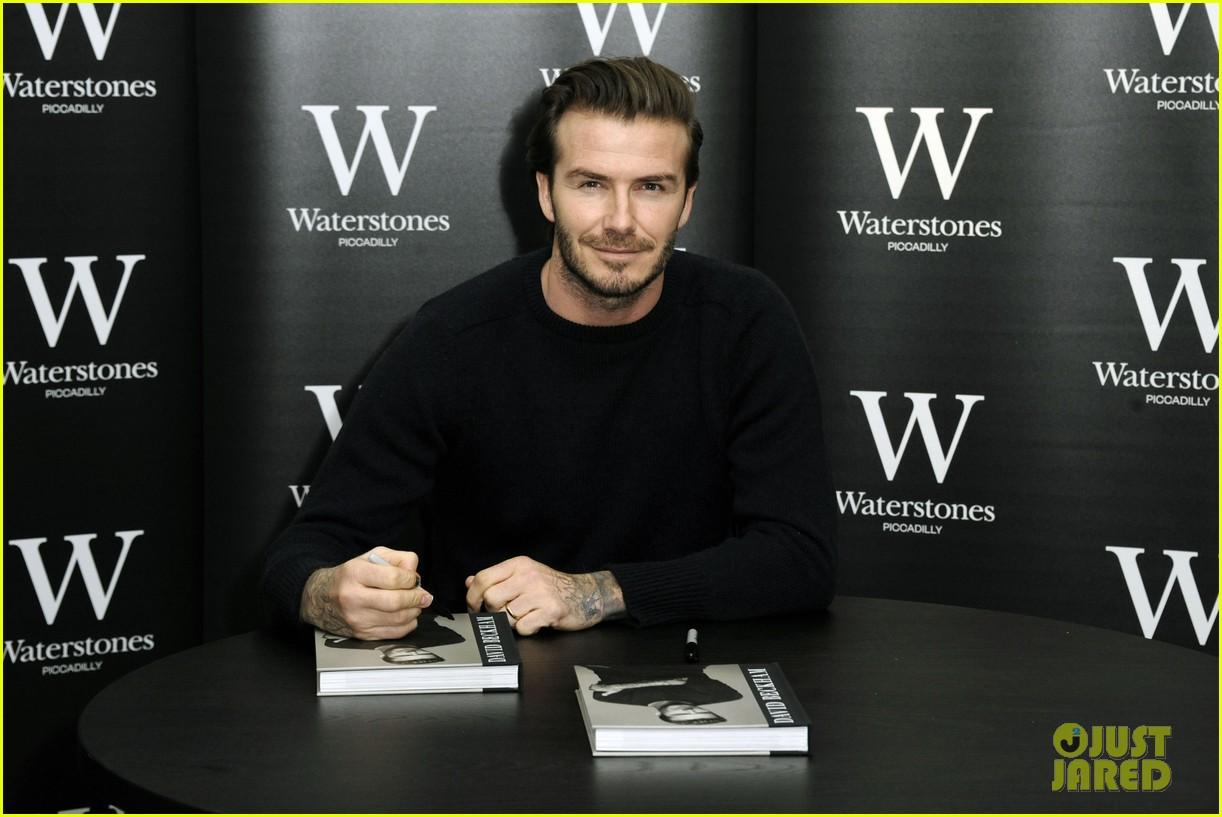 david beckham london book signing 023014765