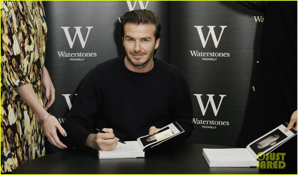 david beckham london book signing 043014767