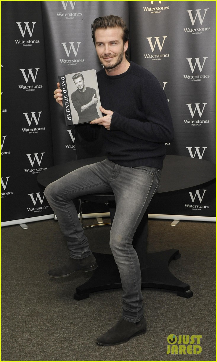 david beckham london book signing 07