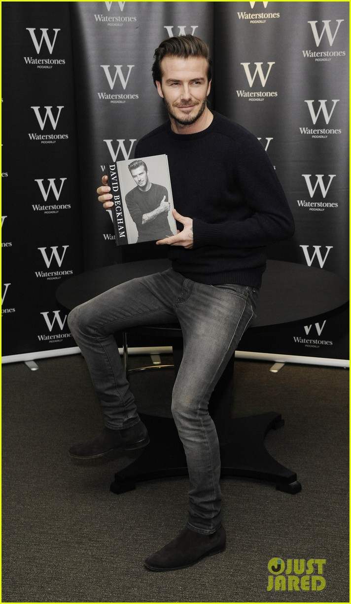 david beckham london book signing 083014771