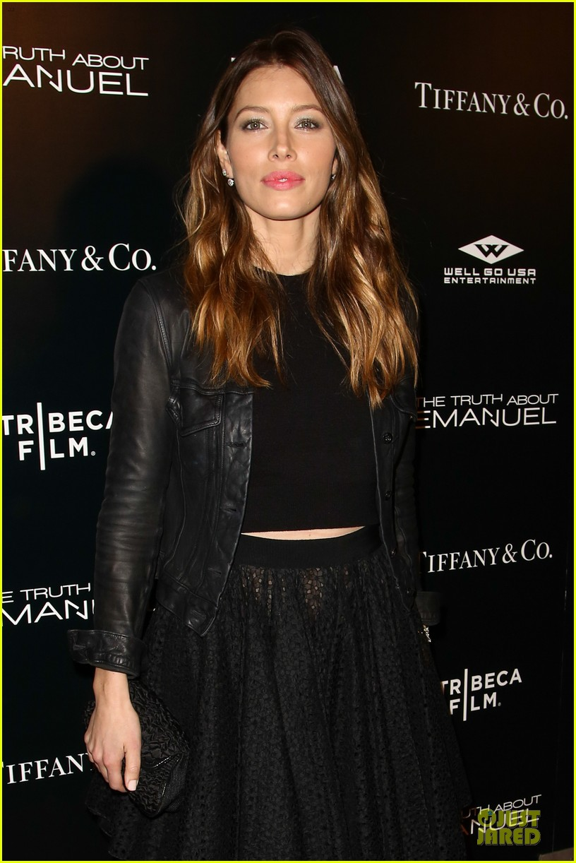 jessica biel the truth about emanuel hollywood premiere 023005287