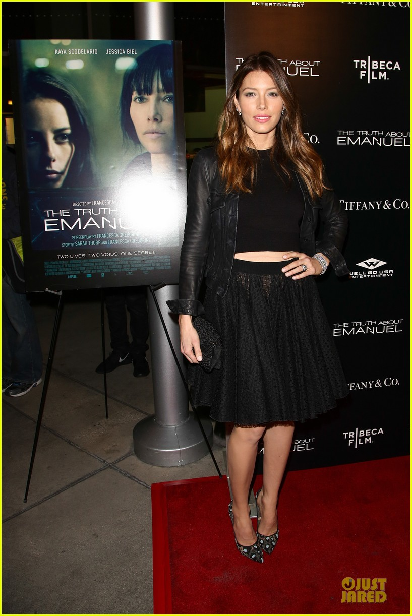 jessica biel the truth about emanuel hollywood premiere 033005288