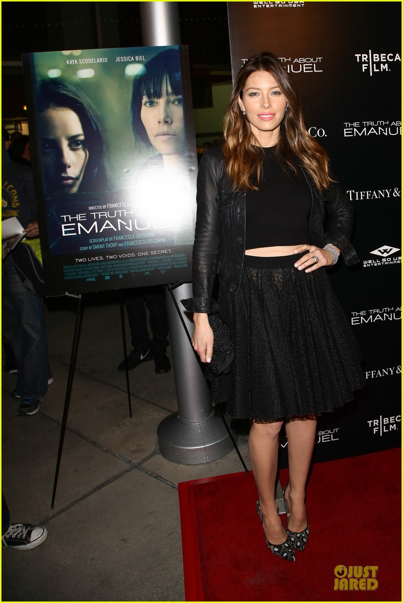 jessica biel the truth about emanuel hollywood premiere 093005294