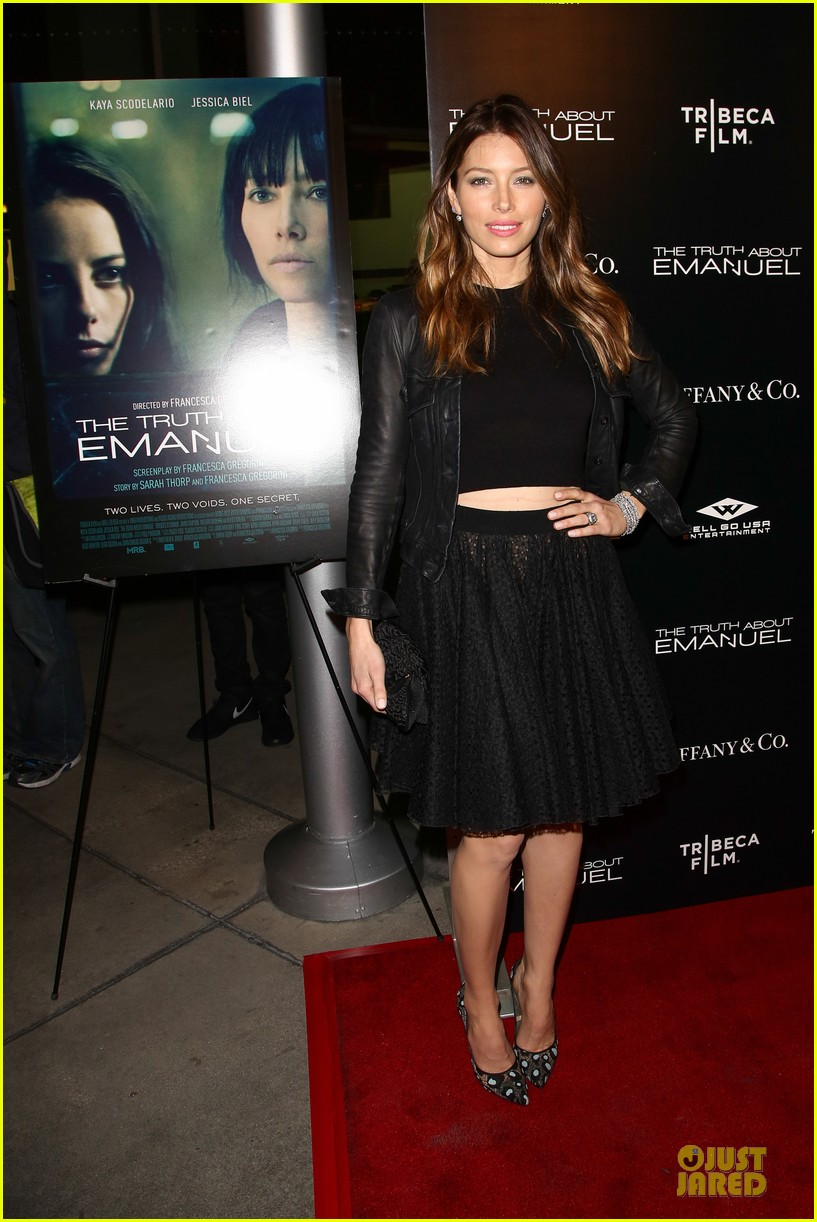 jessica biel the truth about emanuel hollywood premiere 103005295