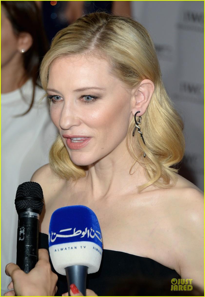 cate blanchett michael b jordan iwc filmmakers award 183007278