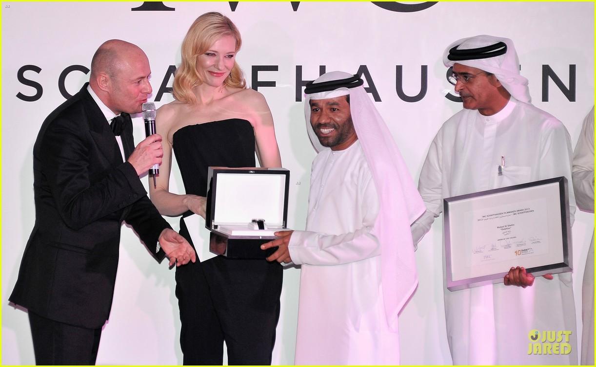 cate blanchett michael b jordan iwc filmmakers award 19