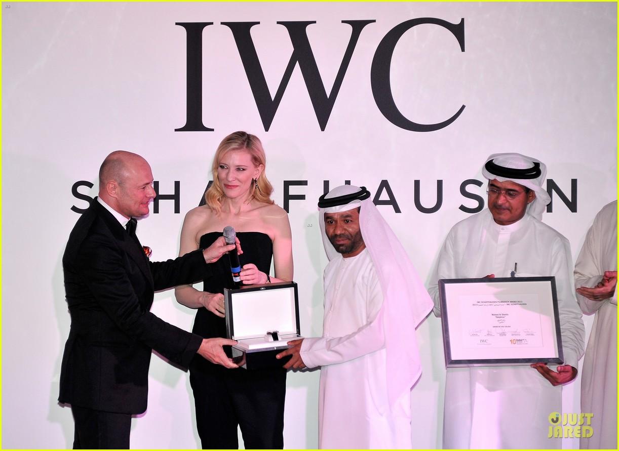 cate blanchett michael b jordan iwc filmmakers award 203007280
