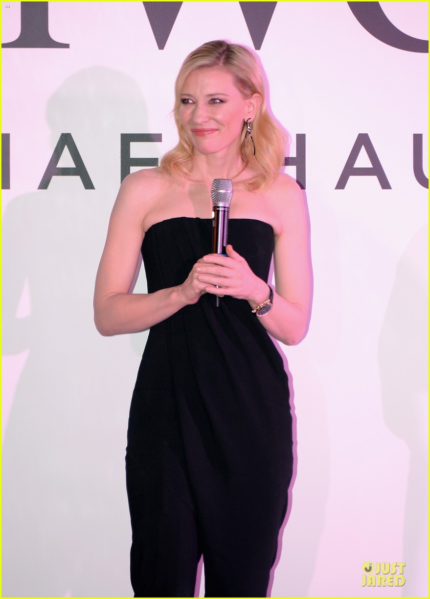 cate blanchett michael b jordan iwc filmmakers award 23