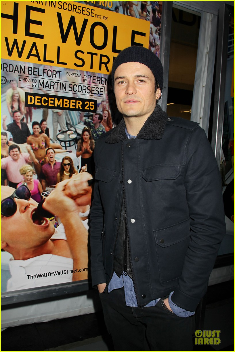 orlando bloom jamie chung wolf of wall street premiere 013013925