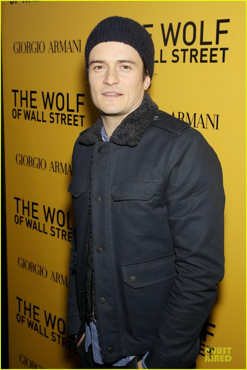 orlando bloom jamie chung wolf of wall street premiere 023013926