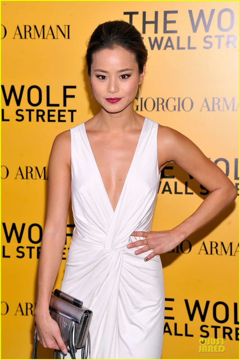 orlando bloom jamie chung wolf of wall street premiere 053013929