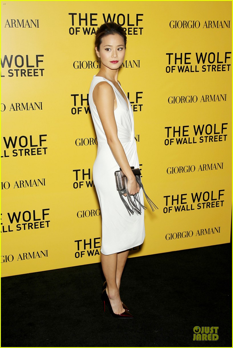 orlando bloom jamie chung wolf of wall street premiere 113013935
