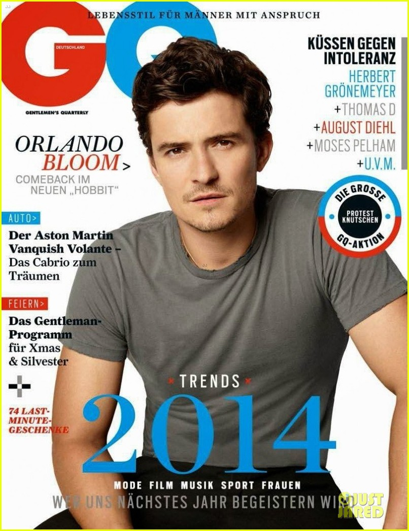 orlando bloom covers gq germany january 2014 053012480