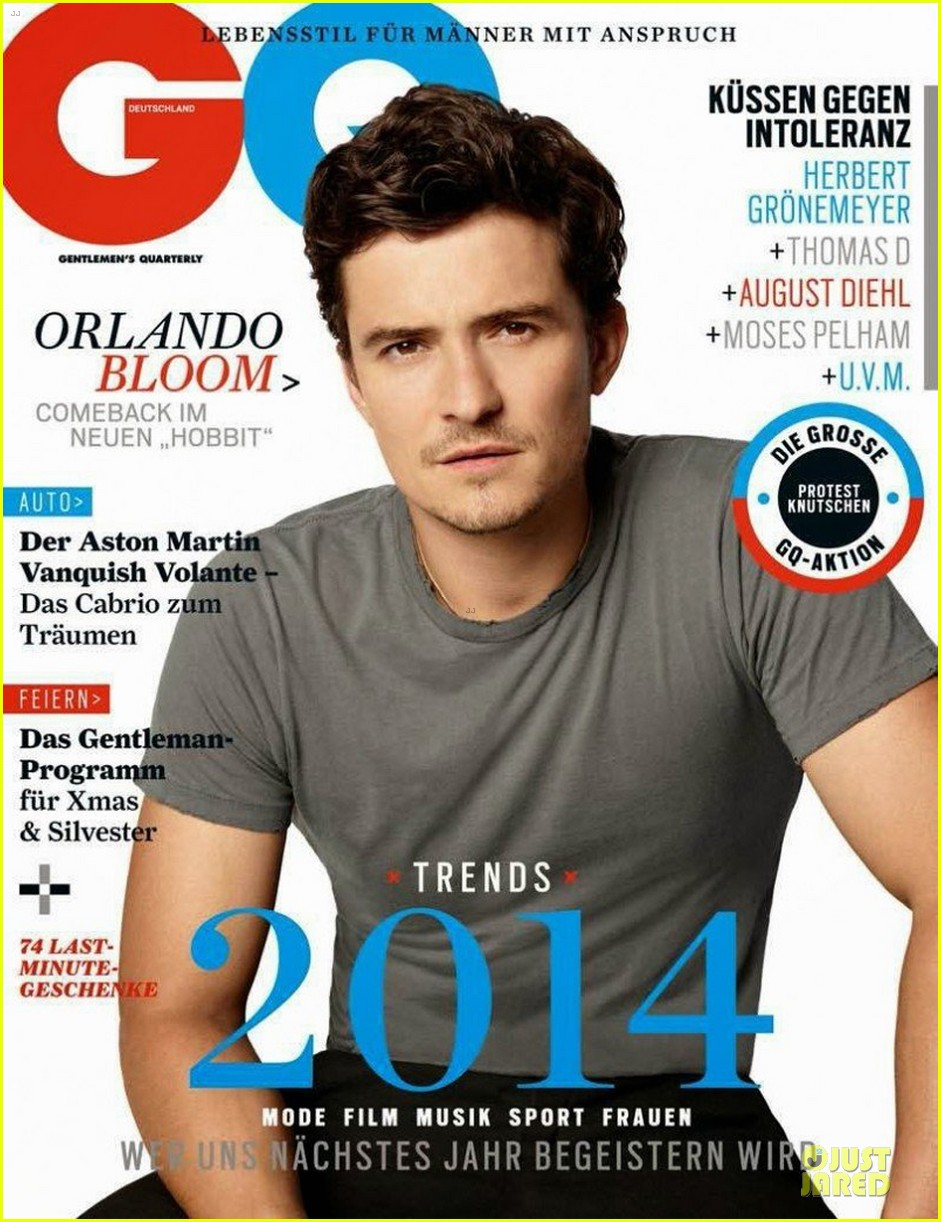 orlando bloom covers gq germany january 2014 073012482