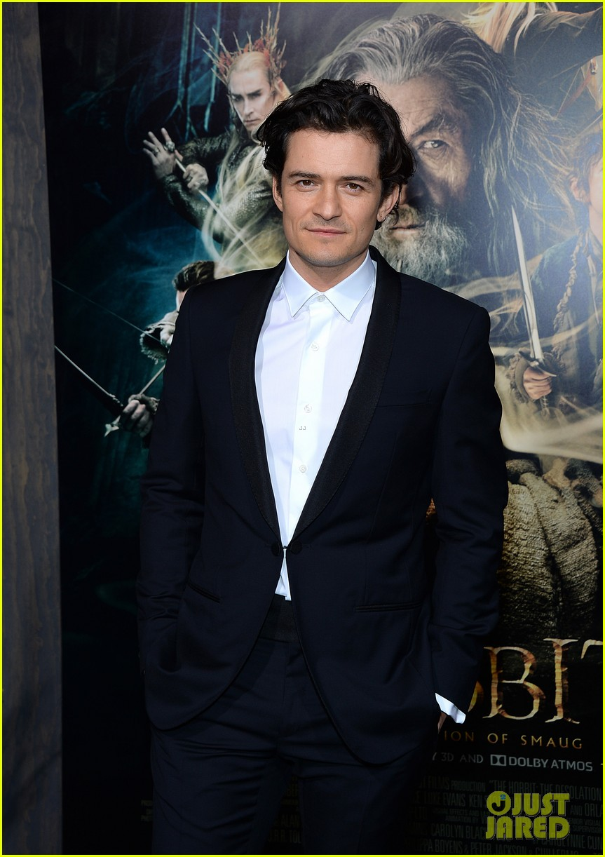 orlando bloom evangeline lilly hobbit hollywood premiere 143003766
