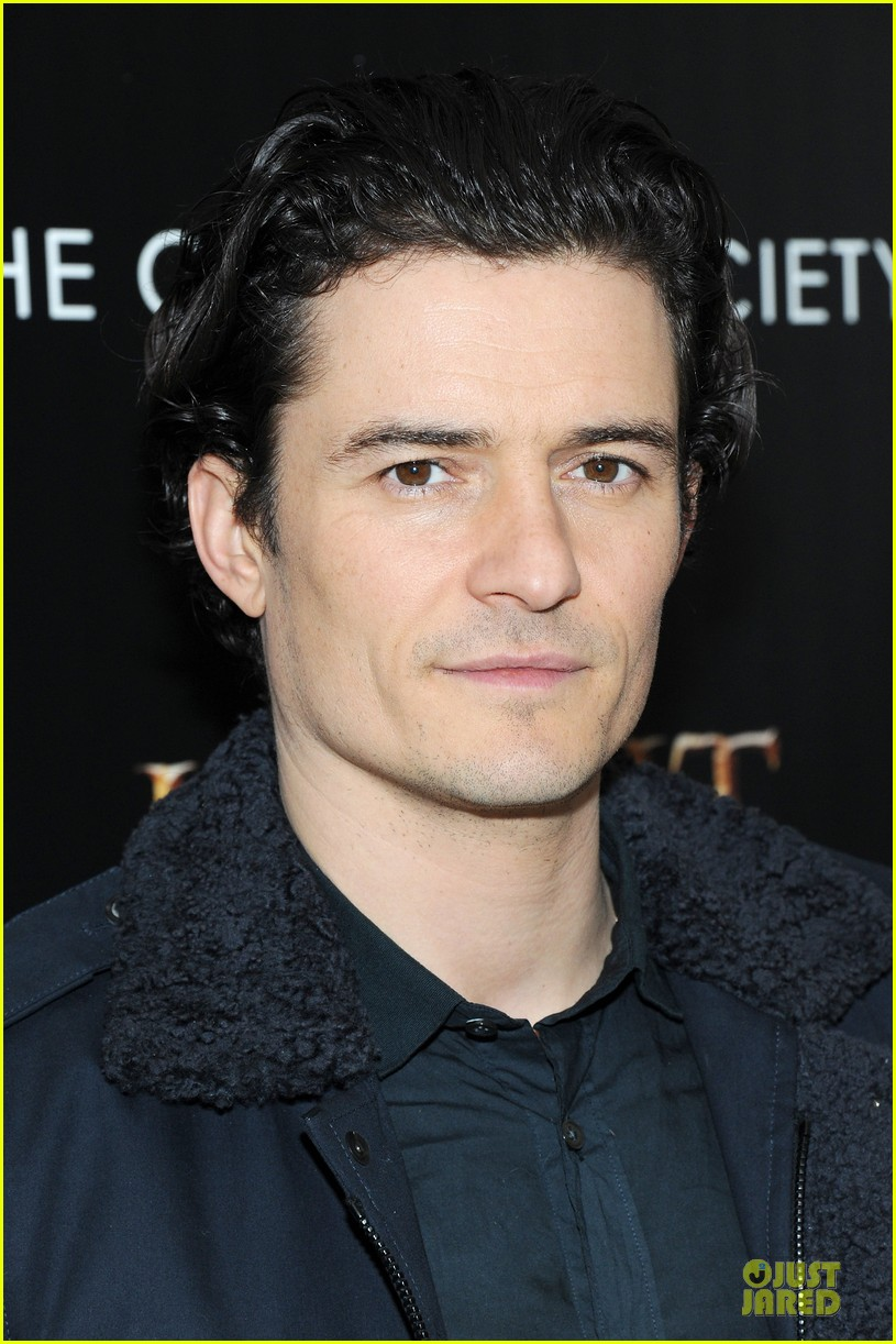 orlando bloom evangeline lilly hobbit nyc screening 21
