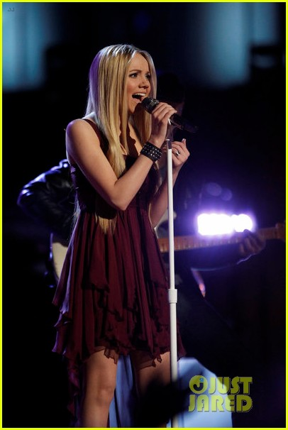 danielle bradbery never like this performance on the voice 08