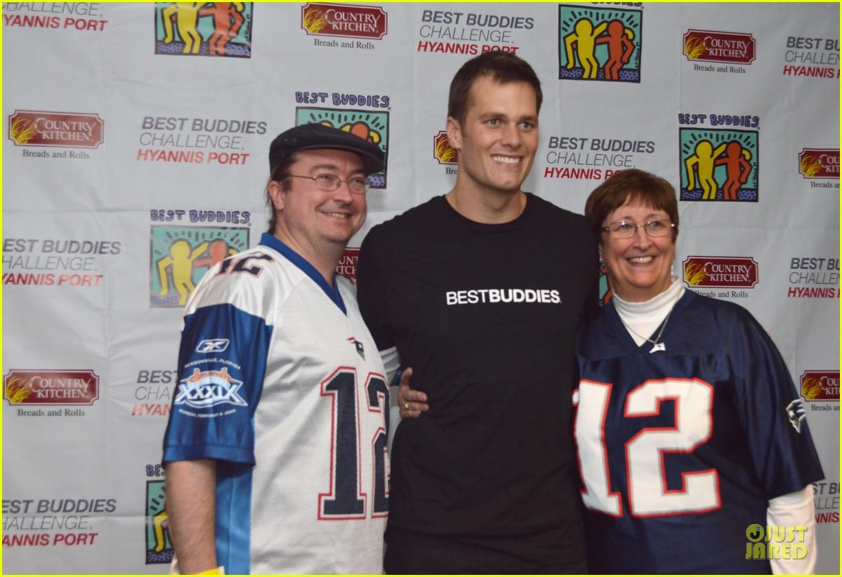 Tom Brady: Best Buddies Challenge Kickoff Event!: Photo