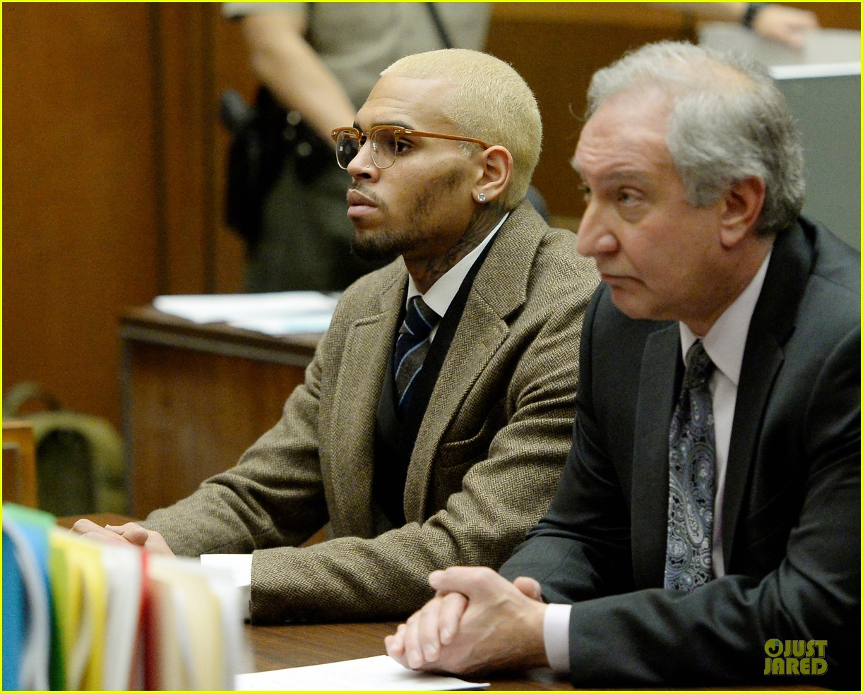 chris brown probation revoked over october arrest 07