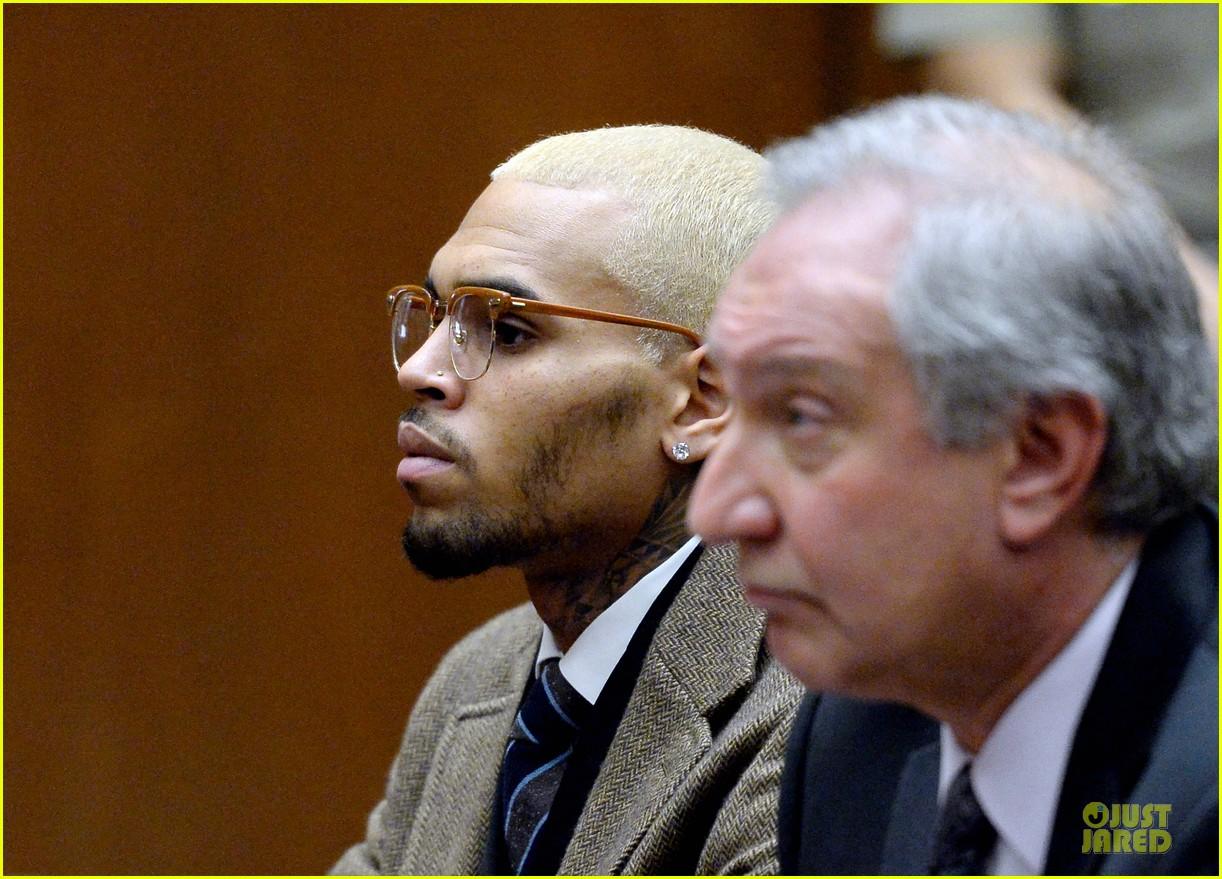 chris brown probation revoked over october arrest 123013270