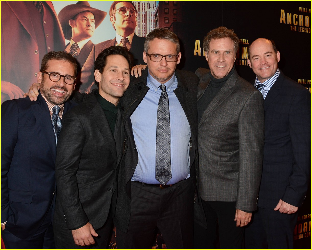 steve carell amp paul rudd anchorman 2 dublin premiere