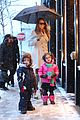 mariah carey snowy aspen shopping with the twins 14