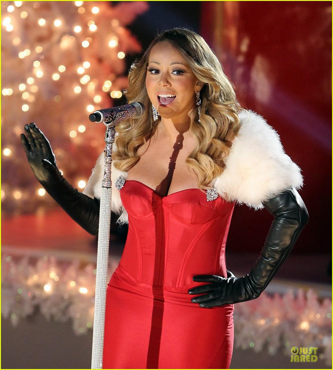 Rockefeller Center Christmas Tree 2013: Mariah Carey: Rockefeller Center Christmas Tree Lighting