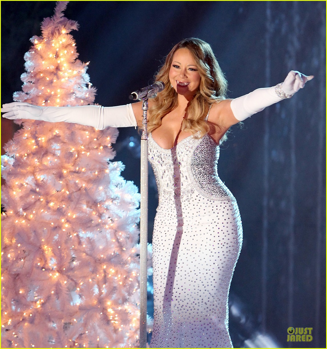 mariah carey rockfeller center christmas tree lighting 2013 performer 20