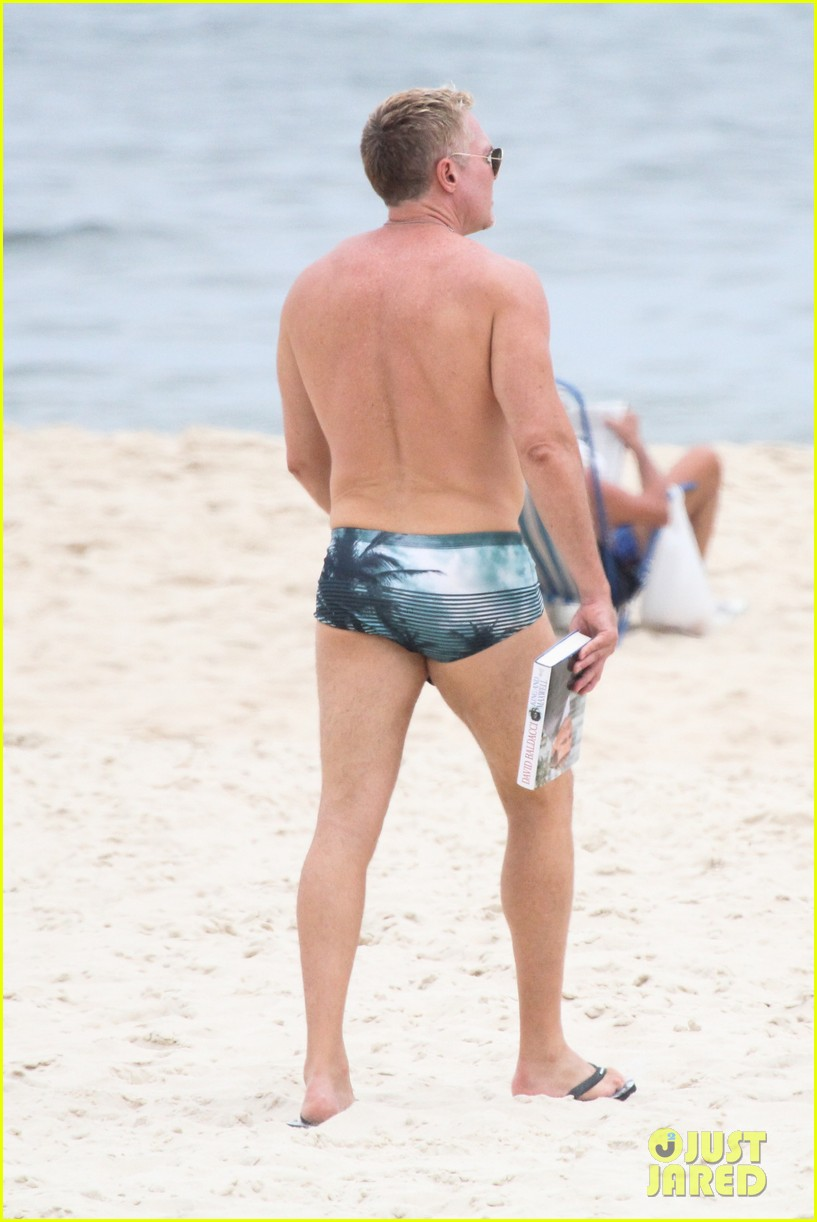 gmas sam champion shirtless buff beach time 133017884