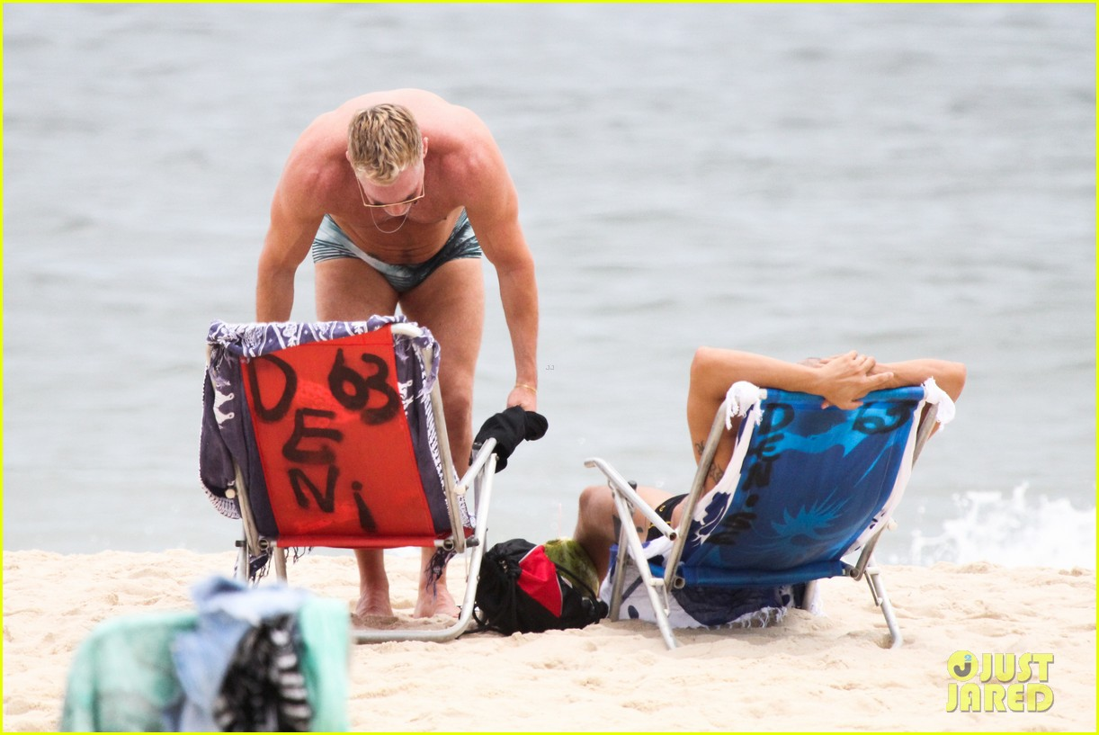 gmas sam champion shirtless buff beach time 193017890