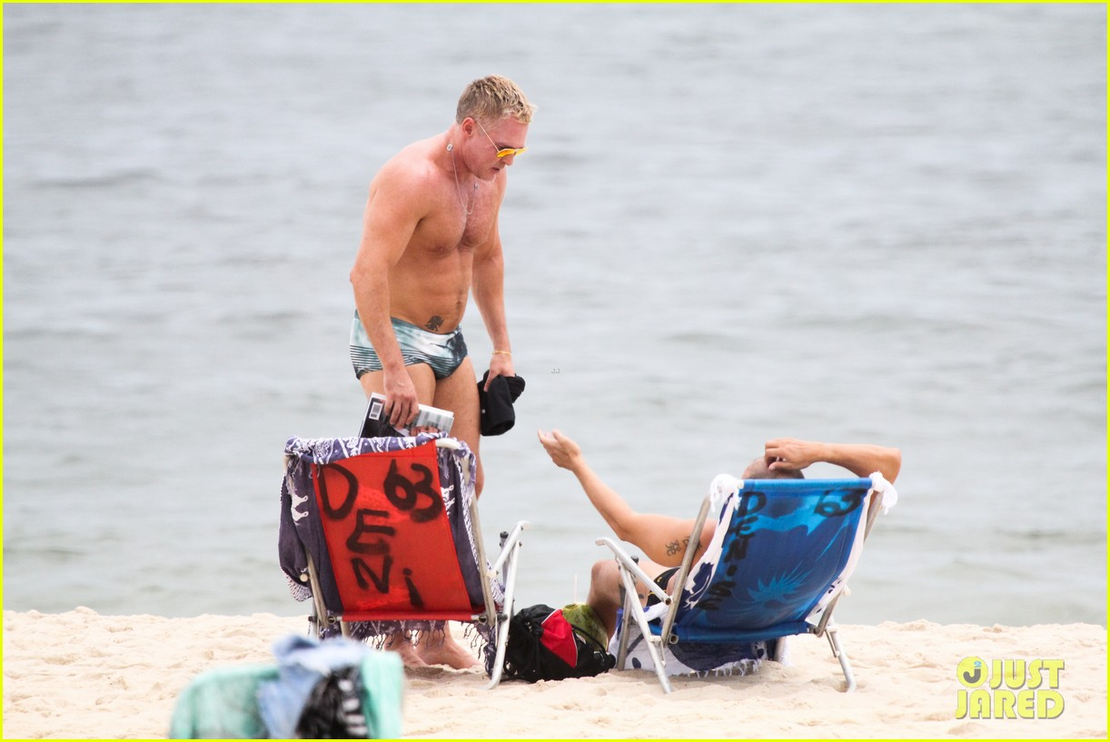 gmas sam champion shirtless buff beach time 203017891