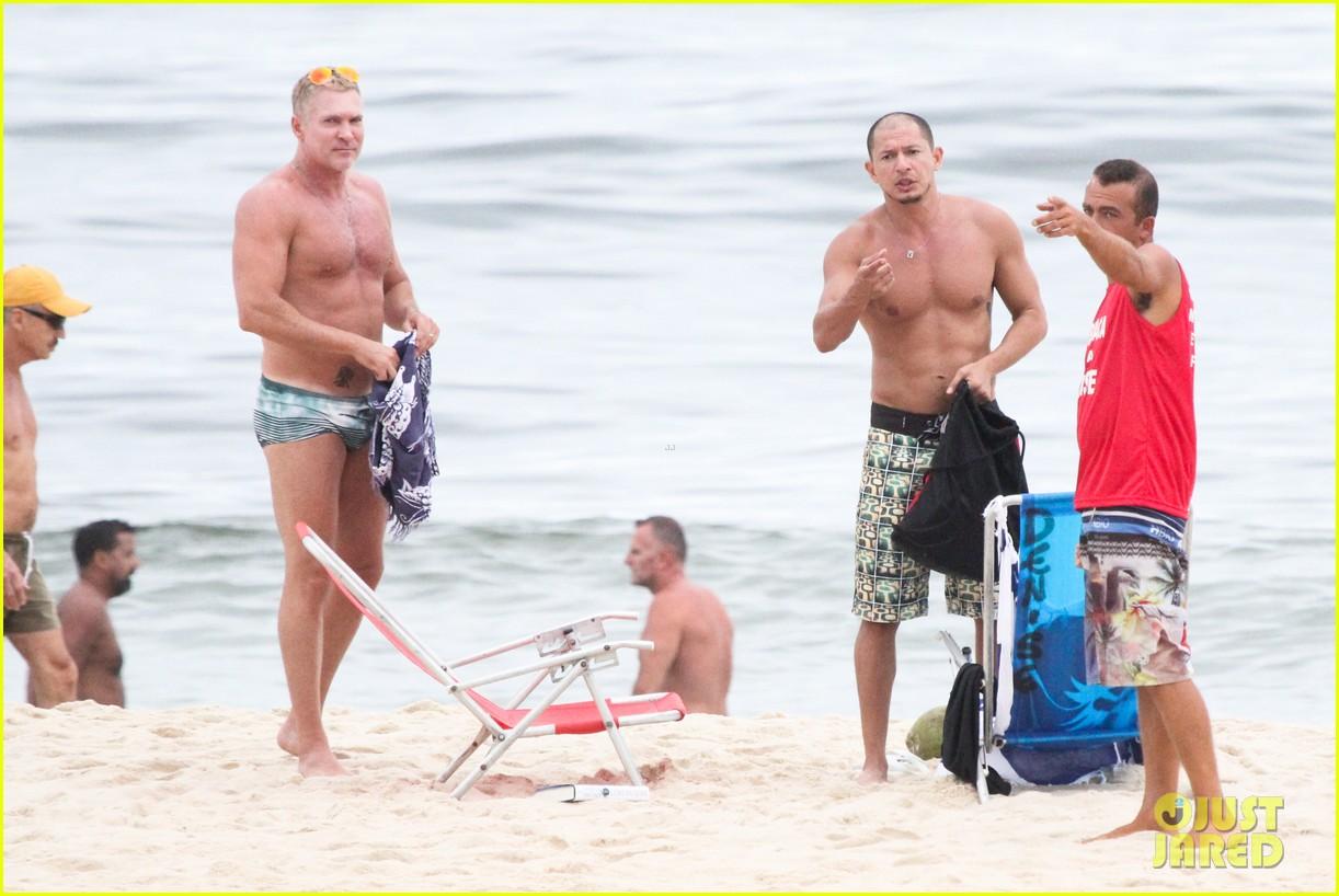 gmas sam champion shirtless buff beach time 273017898