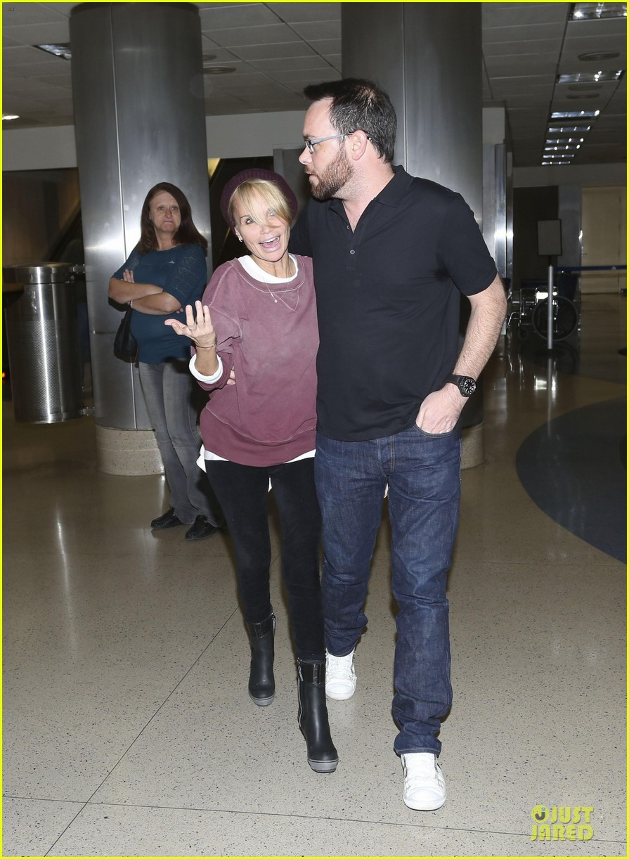 kristin chenoweth lax airport pick up from dana brunetti 133018769