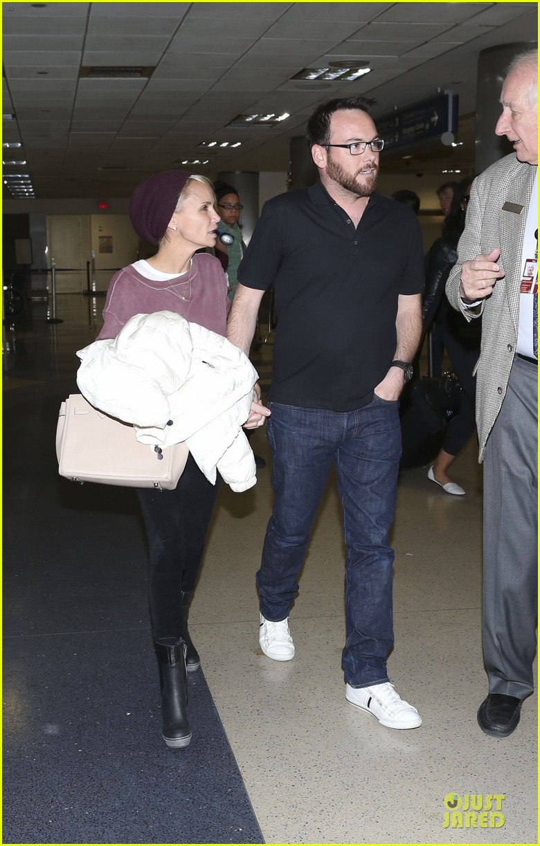 kristin chenoweth lax airport pick up from dana brunetti 163018772