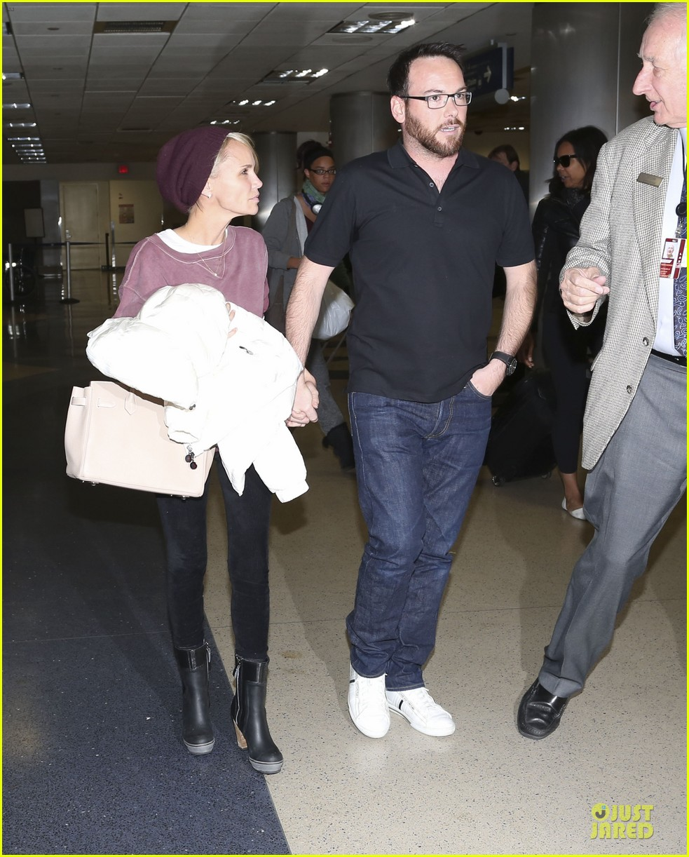 kristin chenoweth lax airport pick up from dana brunetti 173018773