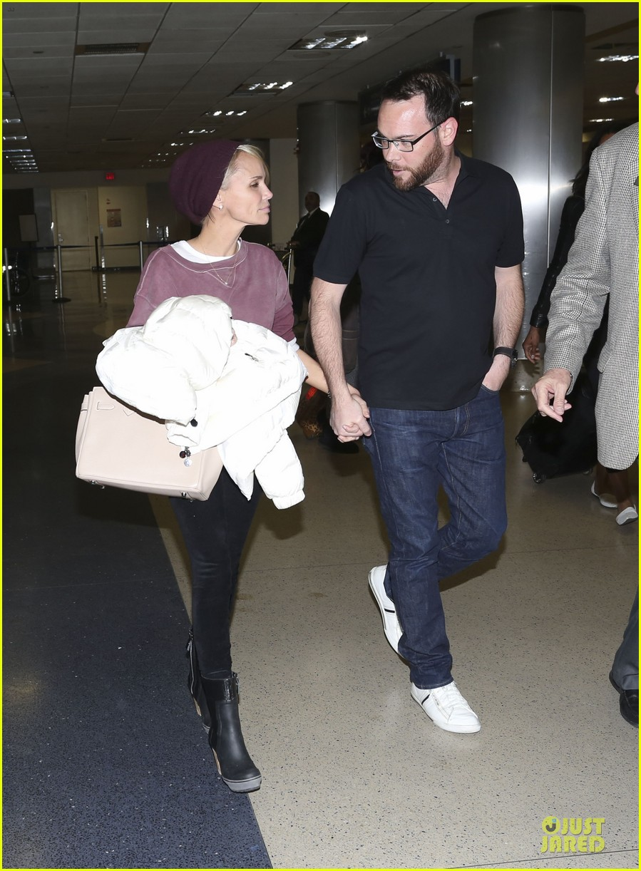 kristin chenoweth lax airport pick up from dana brunetti 183018774
