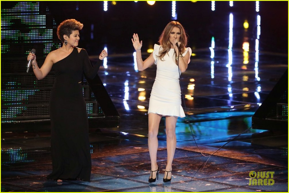 tessanne chin celine dion the voice performance video 033013964