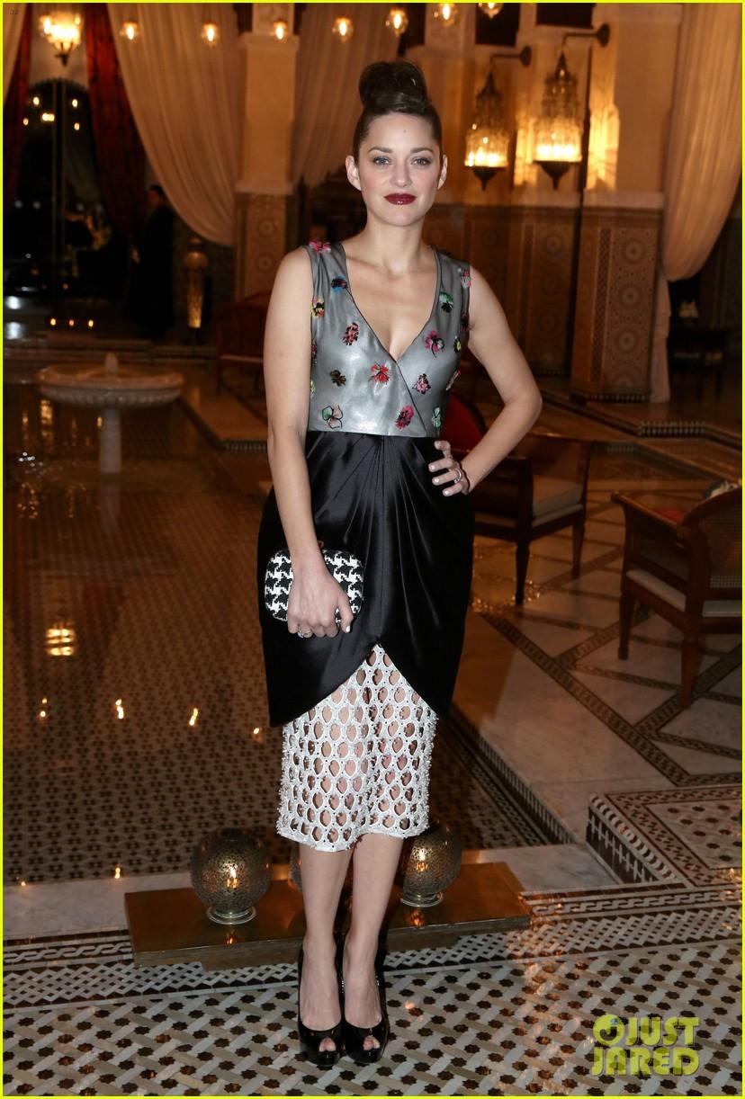 marion cotillard dior dinner at marrakech film festival 2013 013003444