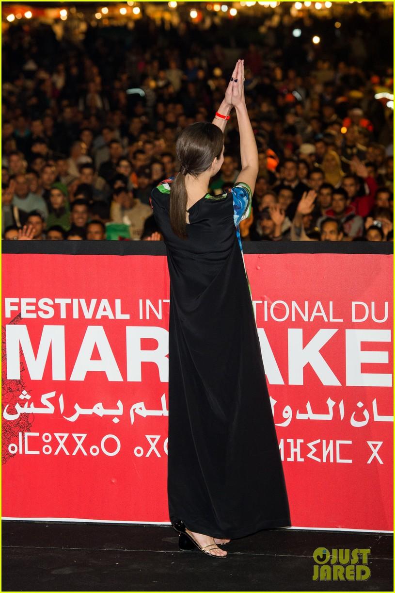 marion cotllard public enemies presentation in marrakech 033005740