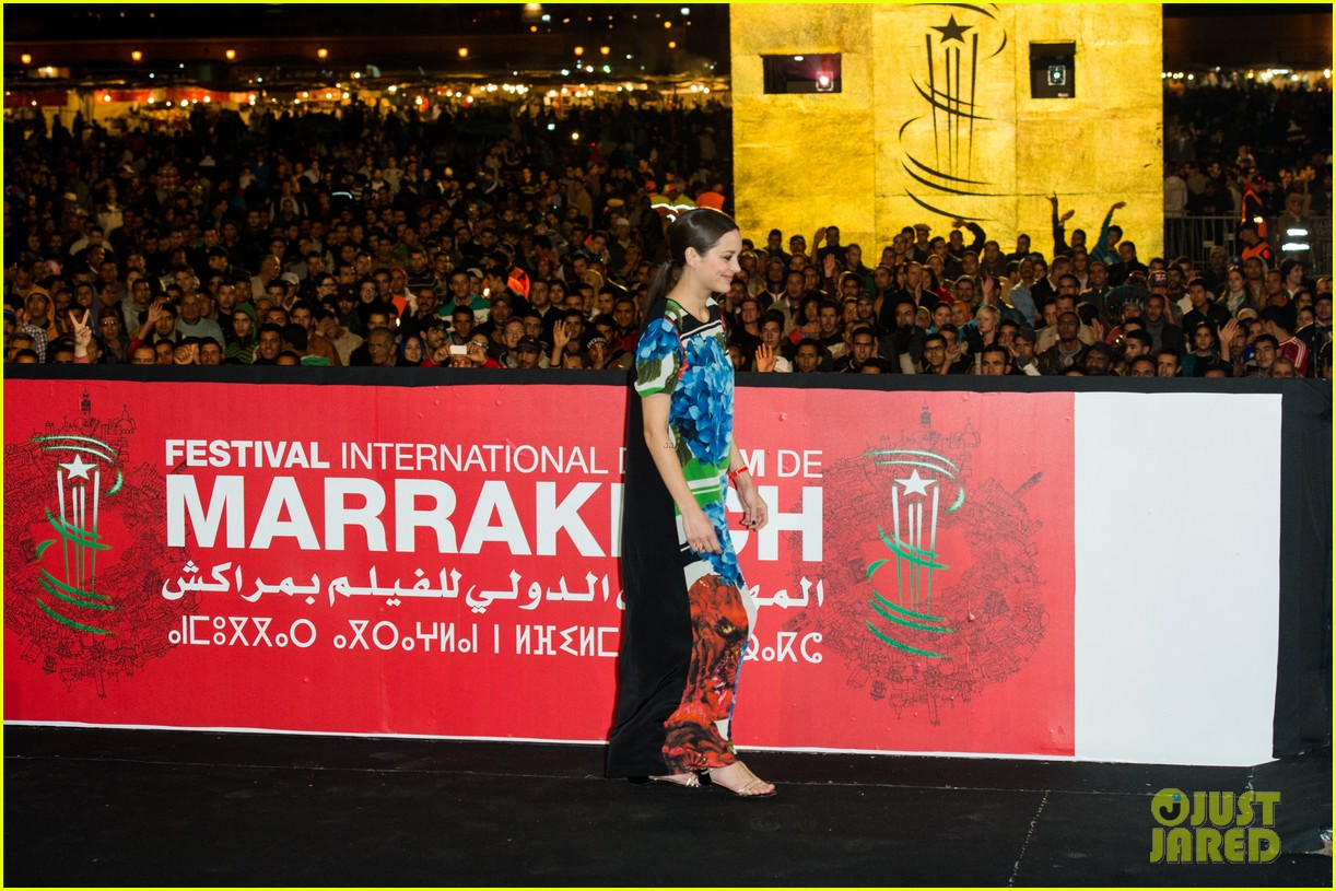 marion cotllard public enemies presentation in marrakech 203005757