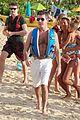 simon cowell shirtless holiday vacation with terri seymour 01