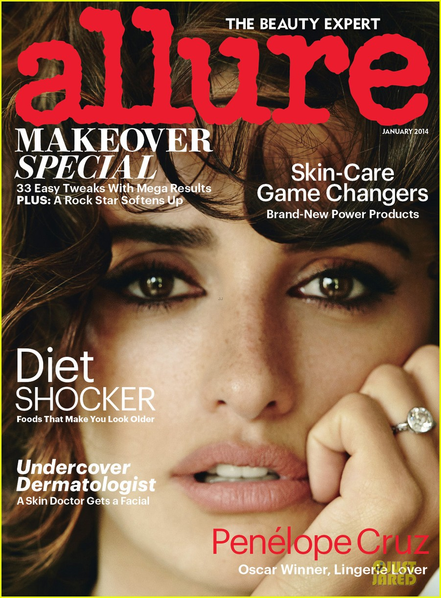 penelope cruz covers allure magazine january 2014 023013214