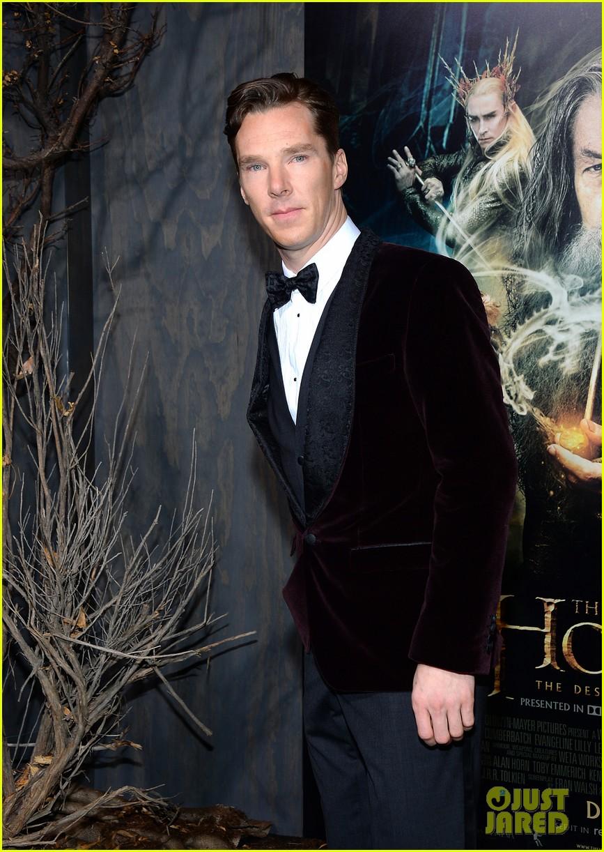 benedict cumberbatch martin freeman hobbit premiere 073003852