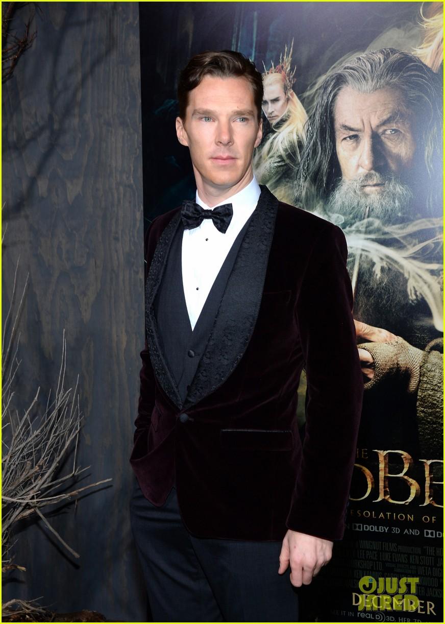 benedict cumberbatch martin freeman hobbit premiere 103003855
