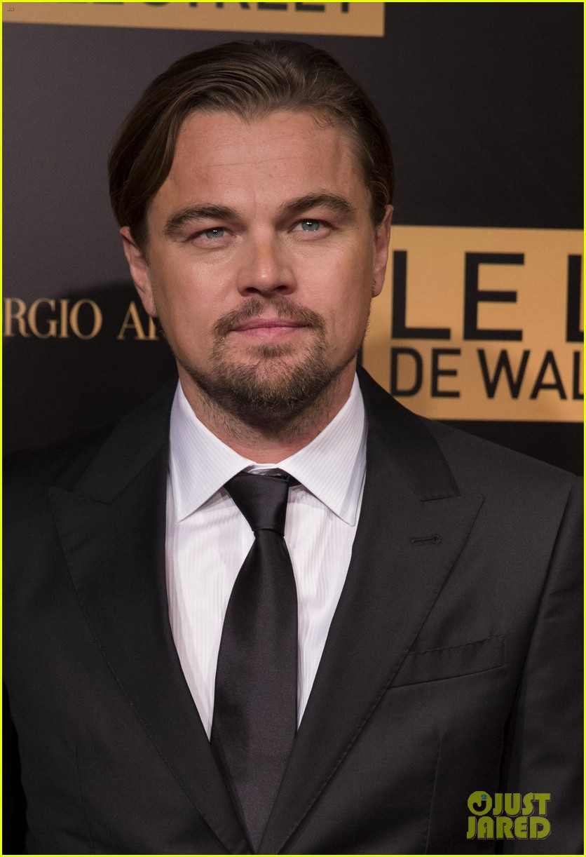 leonardo dicaprio wolf of wall street paris photo call 023008433