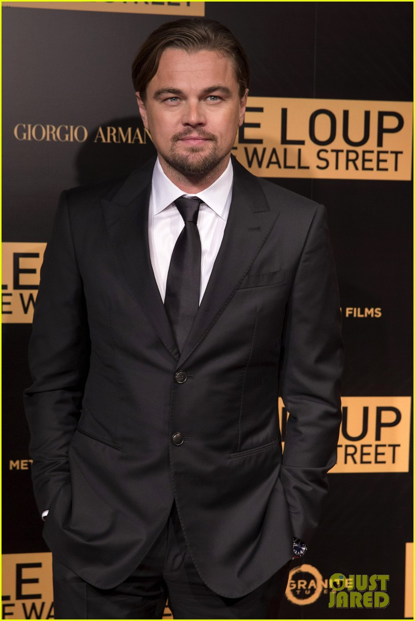 leonardo dicaprio wolf of wall street paris photo call 103008441